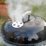 gwebergrill med rök
