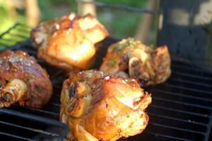 grillad schweinehaxe