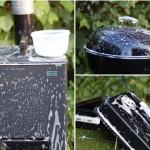 Tvättning av grillarna